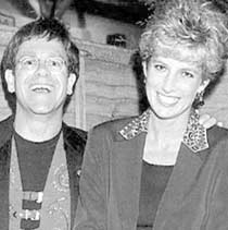 Elton John&Princess D