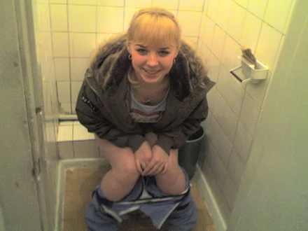Sorry, russian girl toilet