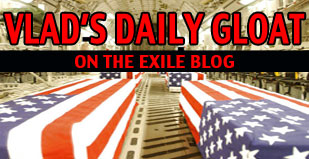 Vlad's Daily Gloat - The eXile Blog